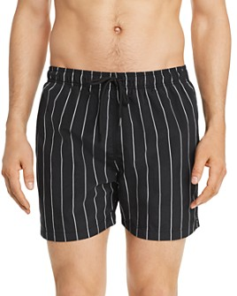 Solid & Striped - Pinstripe Swim Shorts