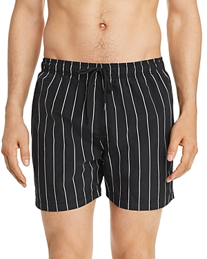 Solid & Striped Shorts PINSTRIPE SWIM SHORTS