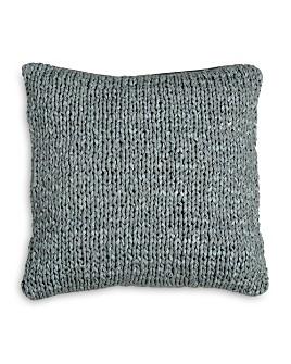 "DKNY - PURE Macrame Decorative Pillow, 16"" x 16"""
