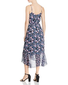 VINCE CAMUTO - Charming Floral Midi Dress
