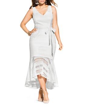 Hi Low Dresses Plus Size - Bloomingdale\'s