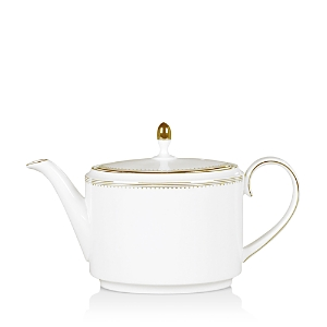 Vera Wang Wedgwood Golden Grosgrain Teapot
