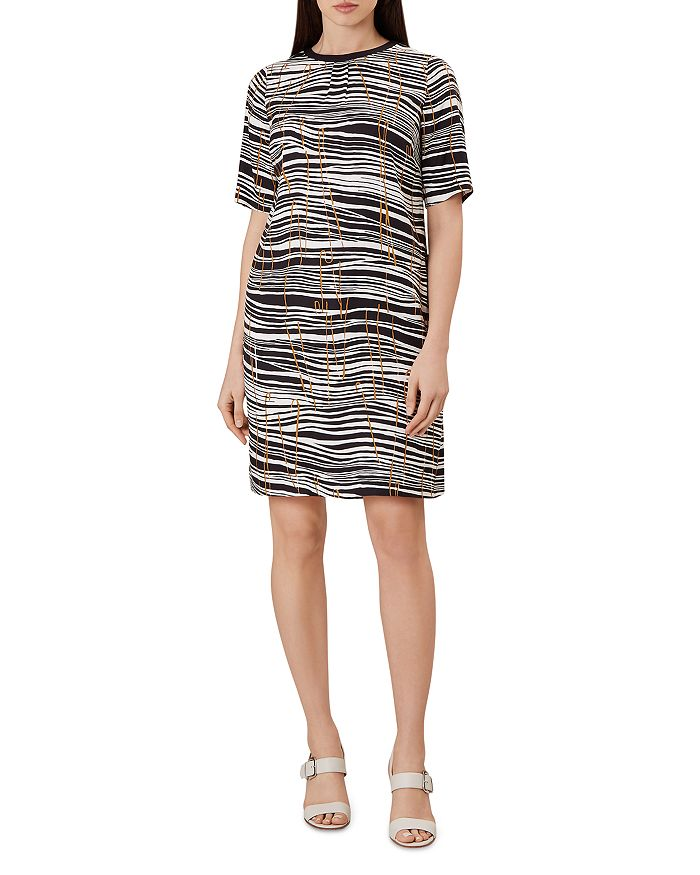 HOBBS LONDON - Carla Zebra Print Shift Dress