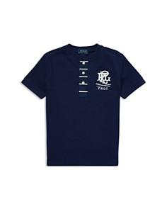 Ralph Lauren - Boys' Mesh Henley Shirt - Little Kid