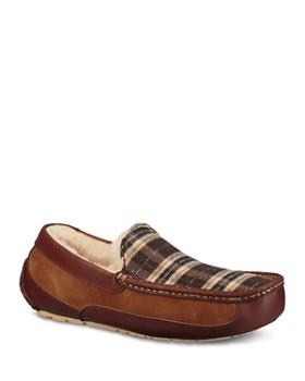 8c0220065c1 UGG® - Men s Ascot Pendleton Plaid Slippers ...
