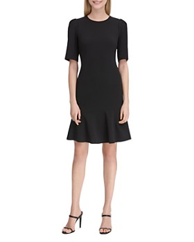 57e2b7adf45 Calvin Klein - Puff Sleeve Dress ...