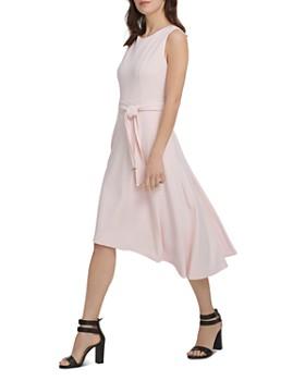 2e567759d2ee ... Donna Karan - Tie-Front High Low Dress