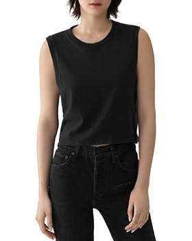 AGOLDE - Cropped Muscle Tee