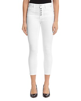 Mavi - Tess Button-Up Jeans in White