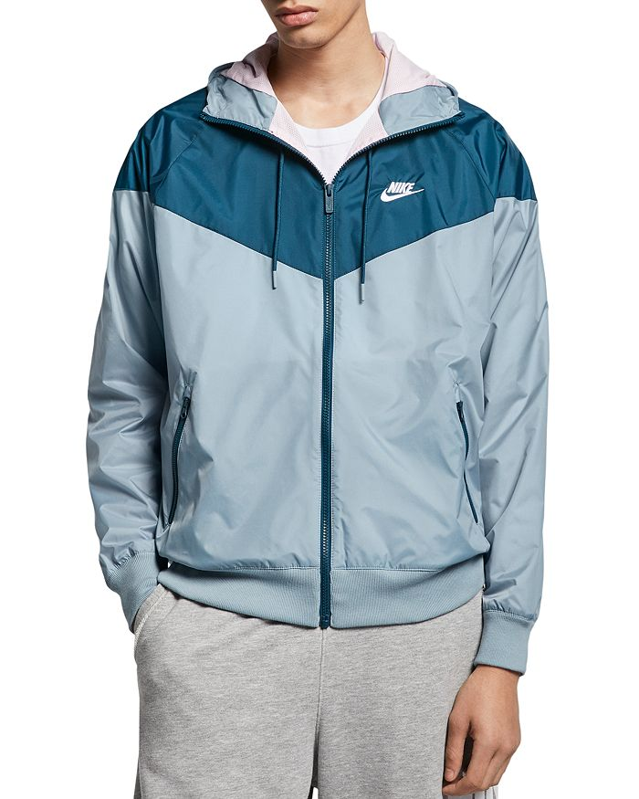 Nike - Hooded Color-Block Jacket