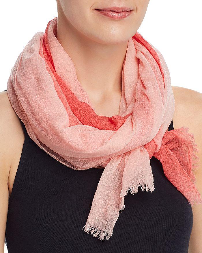 Echo - Dip-Dye Lightweight Wool Scarf