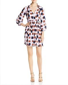 kate spade new york - Geo Squares Mini Dress