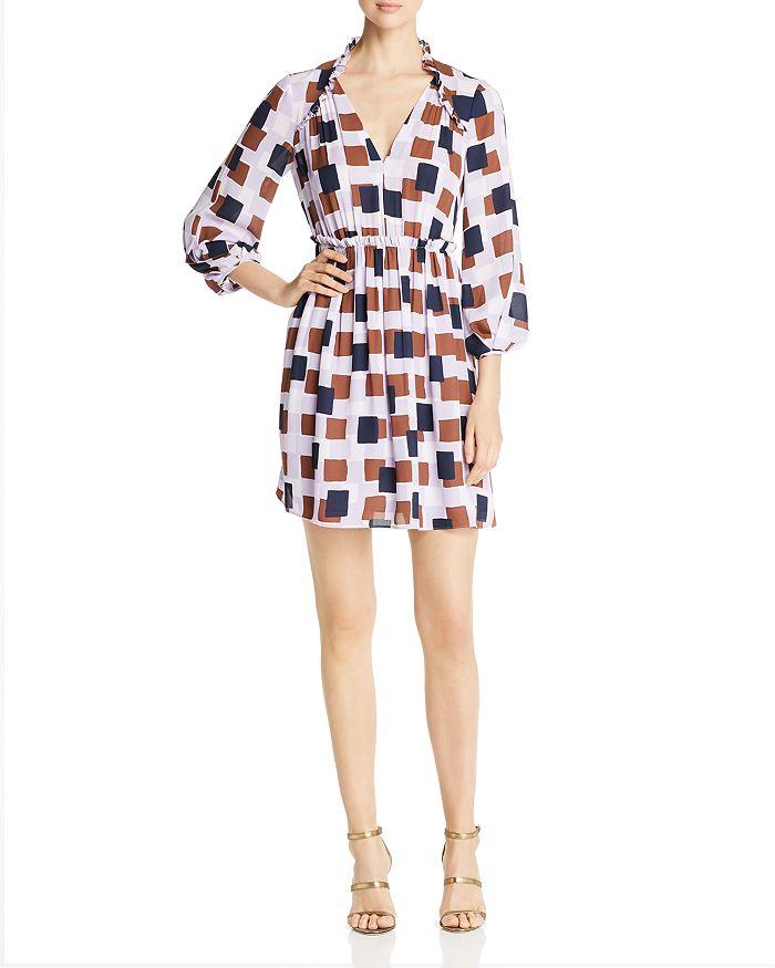 fa4e305815a kate spade new york - Geo Squares Mini Dress