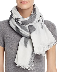 Fraas - Abstract Jacquard Scarf
