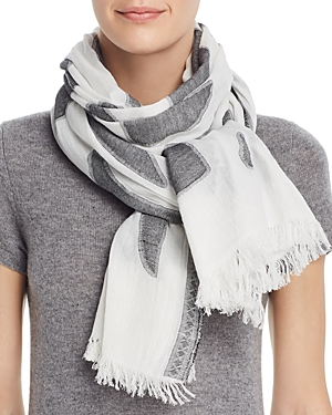 Fraas Abstract Jacquard Scarf