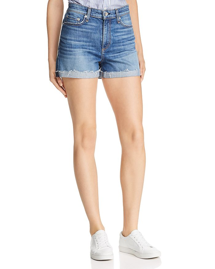 rag & bone - Nina High-Rise Denim Shorts