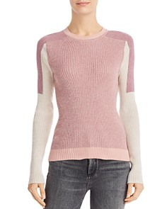 rag & bone/JEAN - Tia Color-Block Rib-Knit Sweater