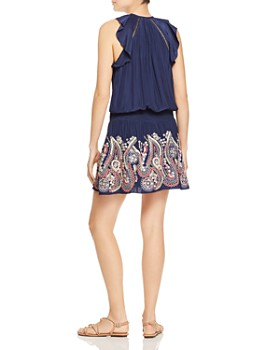 Ramy Brook - Roxanne Embroidered Mini Dress