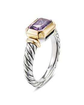 David Yurman - Novella Ring in Sterling Silver & 18K Gold
