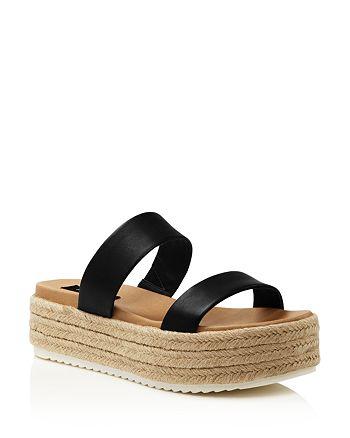 AQUA - Women's Ayden Espadrille Platform Sandals - 100% Exclusive