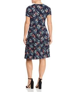 Leota Plus - Sweetheart-Neck Printed Dress