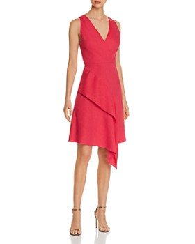 Elie Tahari - Isa Asymmetric Ruffle Dress