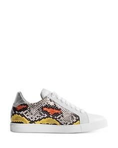 Zadig & Voltaire - Women's Wild Print Low-Top Sneakers