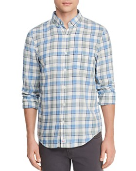 Vineyard Vines - Bayside Plaid Flannel Slim Fit Button-Down Shirt