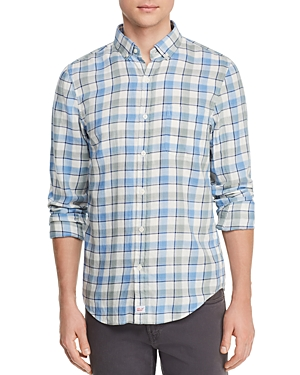 Vineyard Vines Bayside Plaid Flannel Slim Fit Button-Down Shirt