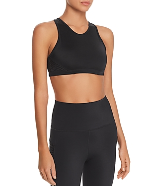 Wear It To Heart Mesh-Back Sports Bra