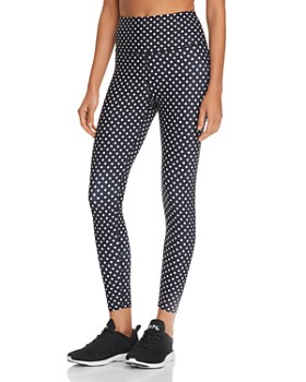 AQUA - Polka Dot Leggings - 100% Exclusive