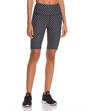 Aqua Athletic Polka Dot Bike Shorts - 100% Exclusive