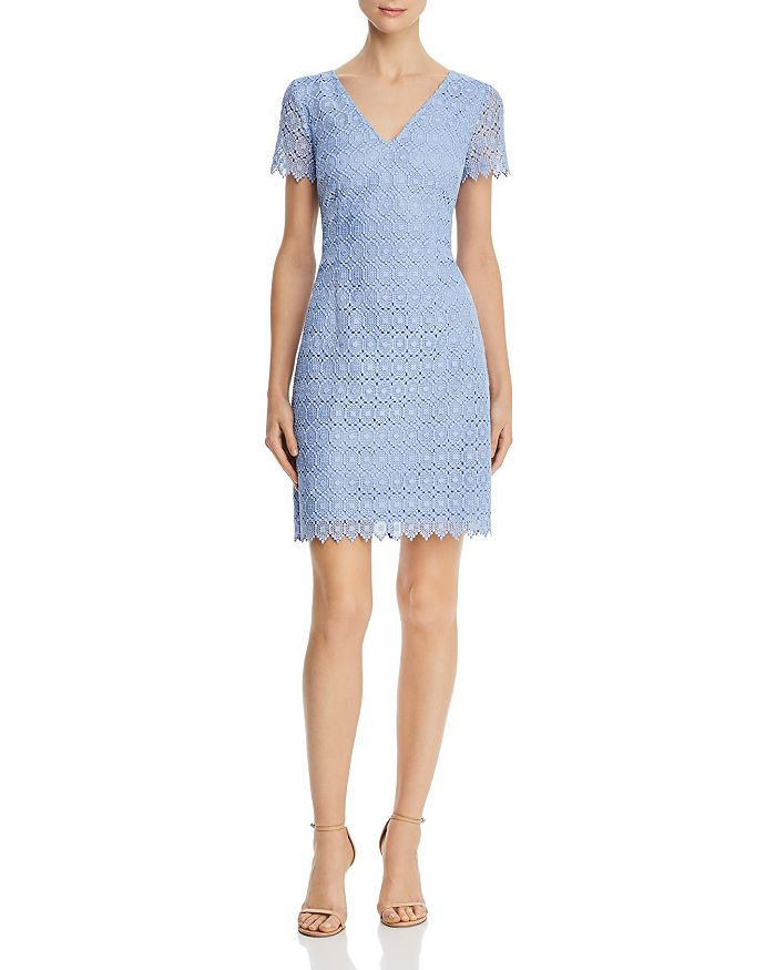Adrianna Papell - Geo Lace Dress