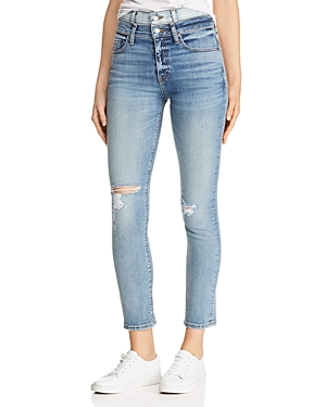 Hudson Jeans HOLLY DOUBLE-WAISTBAND JEANS IN PROVOKING