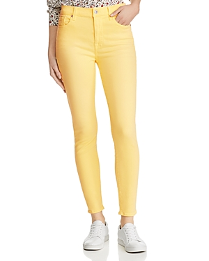 7 For All Mankind Jeans HIGH-RISE SKINNY JEANS IN DANDELION