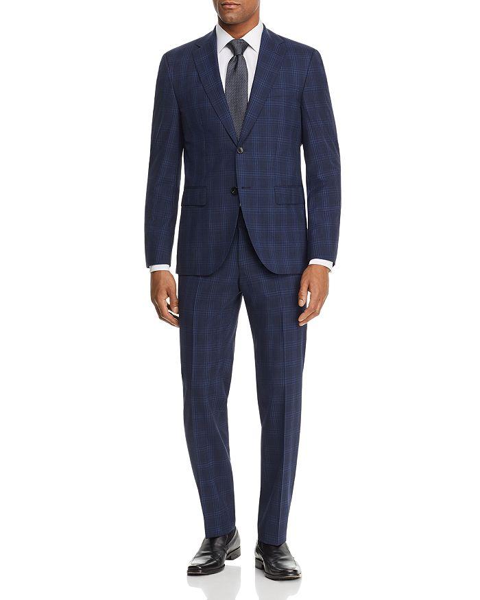 BOSS - Jeckson/Lenon Tonal Plaid Regular Fit Suit