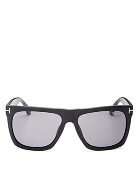 Tom Ford - Men's Morgan Polarized Flat Top Square Sunglasses, 57mm