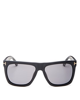 Tom Ford - Men's Morgan Polarized Flat Top Square Sunglasses, 57mm