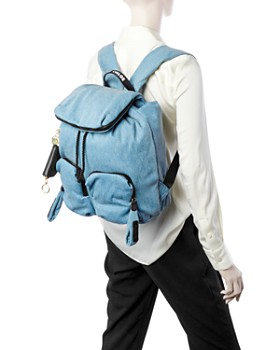 See by Chloé - Joy Rider Medium Denim Backpack
