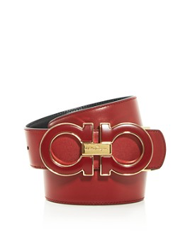 Salvatore Ferragamo - Men's Gancini Reversible Leather Belt