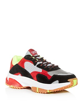 SNKR Project - Men's Park Ave Trail Mixed-Media Low-Top Sneakers