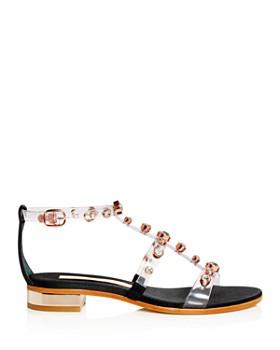 Sophia Webster - Women's Dina Embellished T-Strap Sandals
