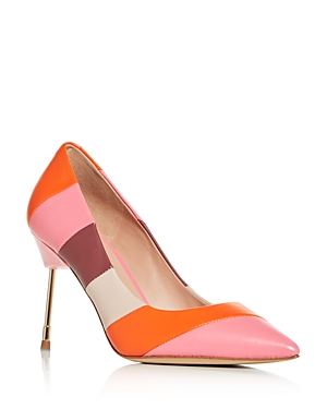 Kurt Geiger WOMEN'S BRITTON POINTED-TOE PUMPS