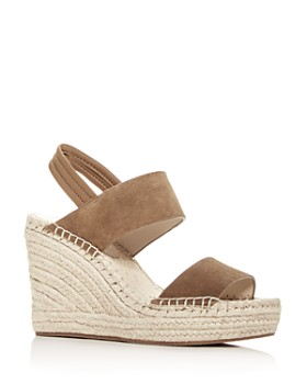 48d8ab392303 Kenneth Cole - Women s Olivia Espadrille Platform Wedge Sandals ...