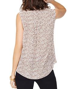 NYDJ - Sleeveless Leopard-Print Blouse