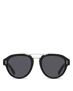 Dior - Men's Fraction Brow Bar Aviator Sunglasses, 50mm