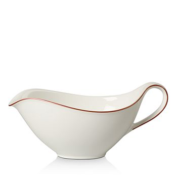 Villeroy & Boch - Anmut Rosewood Gravy Boat- 100% Exclusive