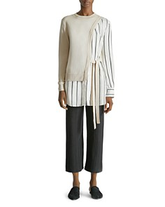 Yigal Azrouel - Sweater/Blouse Combo Top