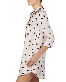 kate spade new york - Charm Polka-Dot Sleep Shirt