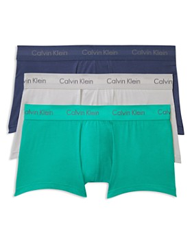 Calvin Klein - Stretch Cotton Low Rise Trunks - Pack of 3